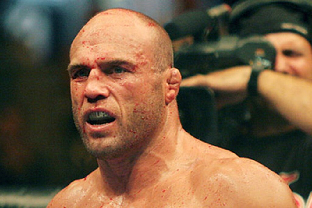 Randy Couture ear